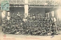 Pays Div-ref R772- Dahomey -collection Des Missions Africaines - Misson -religion -christianisme -ecole Primaire - - Dahomey