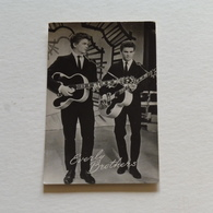 EVERLY BROTHERS - Photo Véritable - Chanteurs & Musiciens