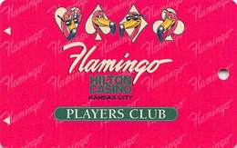 Flamingo Casino Kansas City - BLANK Slot Card - 2nd S In Kansas Between S And I In Casino - Casino Cards
