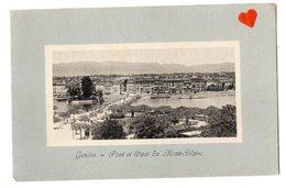 02118-LE-SUISSE-Canton De Genève-Genève-Pont Et Quai Du Mont-Blanc - GE Genève