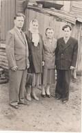 UKRAINE. #1495  A PHOTO. EASTER FAMILY PHOTO 1957 SOCIAL REALISM. *** - Proyectores De Cine