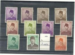 INDONESIA---indonesia  Lotticino    11  Francobolli - Indonesia