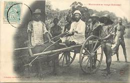 Pays Div-ref R768- Dahomey -collection Des Missions Africaines - Misson -religion -christianisme - Attelages -attelage- - Dahomey