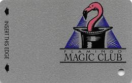 Flamingo Casino Laughlin NV - BLANK Slot Card - PPC Logo Bottom Right Corner - Casino Cards