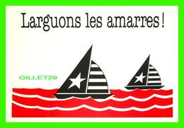 FÊTE - SAINT VALENTIN - LARGUONS LES AMARRES !  - DIMENSION 12 X 17 Cm - CREATIVE PAPER & BOX CRÉATE - - Saint-Valentin