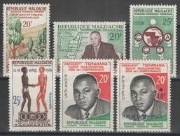 Madagascar - YT 351-356 ** - 1960 - Madagascar (1960-...)