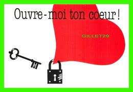 FÊTE - SAINT VALENTIN - OUVRE-MOI TON CŒUR  !  - DIMENSION 12 X 17 Cm - CREATIVE PAPER & BOX CRÉATE - - Saint-Valentin