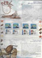 2002 - POCHETTE EMISSION COMMUNE FRANCE / AUSTRALIE  - NAVIGATEURS - Francia
