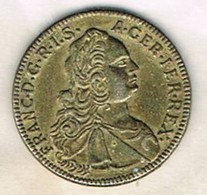 Moneda TOKEN, Jeton FRANCIA, Franciscus I Rex  1752 - Francia
