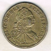 Moneda TOKEN, Jeton FRANCIA, Franciscus I Rex  1752 - Otros