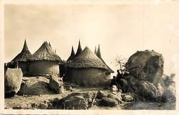 Pays Div-ref R762- Cameroun - Mokolo - Village Kirdi  - Carte Bon Etat - - Cameroun