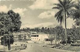 Pays Div-ref R761- Cameroun - Yaounde - La Poste  - Carte Bon Etat - - Cameroun