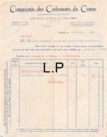 33-1635   1930 COMPAGNIE DES CARBURANTS DU CENTRE A PARIS - M. TRANCHANT A SAINT JULIEN L ARS - 1900 – 1949
