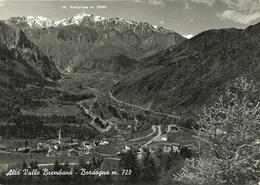Bordogna (Bergamo) Alta Valle Brembana, Panorama, Monte Ventulosa Sul Fondo - Bergamo