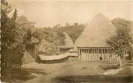 Pays Div-ref R758- Cameroun -  Bandjoum - Case Barnoum  - Carte Bon Etat - - Cameroun