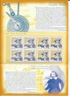 2004 - POCHETTE EMISSION COMMUNE FRANCE / CANADA  - DUGUA DE MONS - Francia