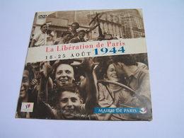 DVD LIBERATION DE PARIS 18 25 Aout 1944 MAIRIE DE PARIS - Documentary