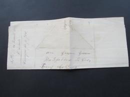 Schweiz 1862 Markenloser Brief Aus Sattel / Schwyz 24. Januar 1862 Mit Inhalt - Lettres & Documents