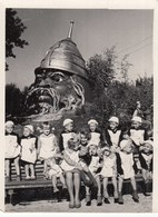 UKRAINE. #1499 A PHOTO. CRIMEA. CHERNOMOR. KINDERGARTEN, A BEAUTIFUL TEACHER *** - Proyectores De Cine