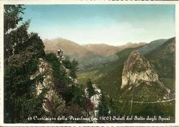 Cantoniera Della Presolana (Bergamo) Veduta Del Salto Degli Sposi - Bergamo