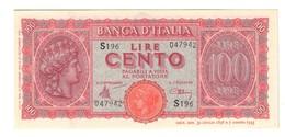 100 Lire Italia Turrita 10 12 1944 LUOGOTENENZA FDS  LOTTO 2336 - 100 Lire