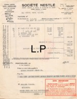 34-0834   1936 FARINE LAITS SOCIETE NESTLE A PONTARLIER - M. YAMANN A GRANDFONTAINE - France