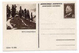 YUGOSLAVIA, SLOVENIA, MOTIV, 7TH, REGULAR, EDITION, NOT USED, POSTAL STATIONERY, 1953 TITO - Slovenia