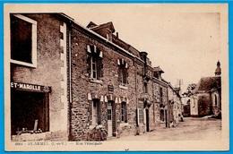 CPA 35 St SAINT-ARMEL - Rue Principale ° Photo A. Donias - Autres Communes