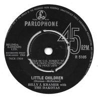 "Billy J. Kramer With The Dakotas   ""  Little Children  "" - Vinyles"