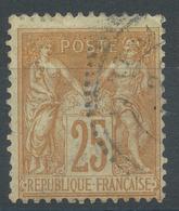 Lot N°47599  N°92, Oblit Cachet à Date Perlé Des Bateaux ??????? - 1876-1898 Sage (Type II)