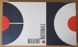 Livre / Brochure De La Marine Nationale - Revue Des Navires De Guerre Et Aviation, Uniformes Et Insignes, Etc... - 1975 - Boeken