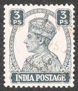 India - Scott #168 Used (2) - 1936-47 King George VI