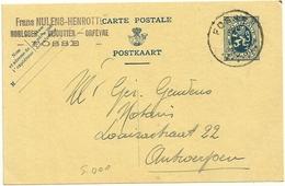 CARTOLINA  POSTALE  1933 - Interi Postali