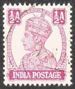 India - Scott #169 Used (3) - 1936-47 King George VI