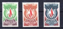 Serie De Francia Servicio N ºYvert 43/45 ** - Servicio