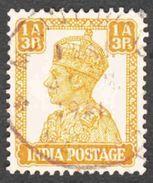 India - Scott #172 Used (2) - 1936-47 King George VI