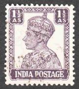 India - Scott #172A Used (3) - 1936-47 King George VI