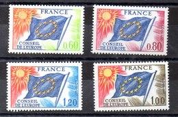 Series De Francia Servicio N ºYvert 46/48+49 ** - Servicio