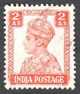 India - Scott #173 Used (1) - 1936-47 King George VI