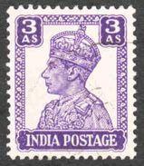 India - Scott #174 Used (1) - 1936-47 King George VI