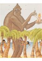 Pierre MILON - King Kong A Les Boules... Ou Pas - Pin-up - Nu Dessiné - Singe - Autres Illustrateurs
