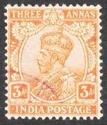 India - Scott #86 Used (2) - India (...-1947)
