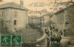 CANTAL  GLENA  Entrée Du Bourg - Autres Communes