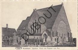 Postkaart-Carte Postale KOEKELARE Mokker Kerk Van Pastoor Van Ars (o612) - Koekelare