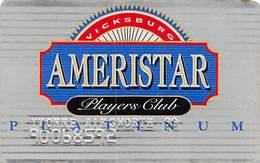 Ameristar Casino Vicksburg - 4th Issue Slot Card   .....[RSC]..... - Casino Cards