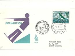 SAN  MARINO  SCI  NAUTICO 1973   VENETIA CLUB - Water-skiing