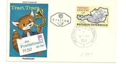 OSTERREICH   DIE  POSTLEITZAHL 1430----------1966 - FDC