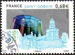 Oblitération Cachet à Date Sur Timbre De France N° 4984 - Saint Gobain - Francia