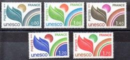 Series De Francia N ºYvert 50/52+56/57 ** - Servicio
