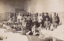 """CP Photo : Blessés Militaires -  Chambrée Des """" Gueules Cassées """" - 1ère Guerre - War, Military"""